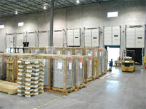 Vancouver warehouse of file storage